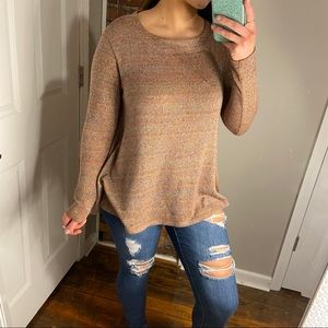 Altar'd State striped tunic sweater M